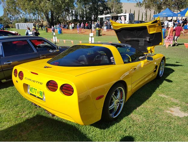 Ray Preston's 1998 Corvette